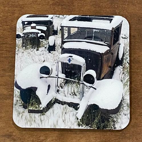 Winter Autos Coaster