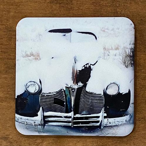 Winter Automobile Coaster
