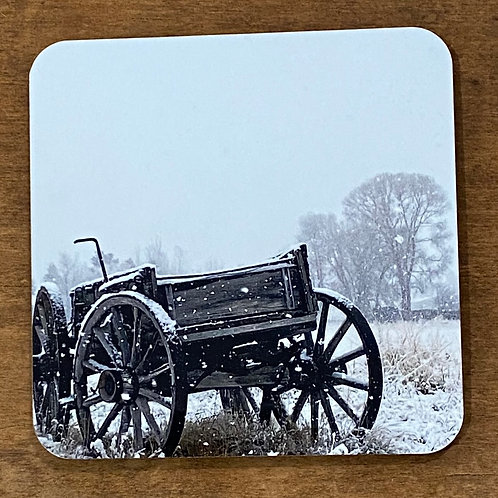 Winter Storm Wagon Coaster