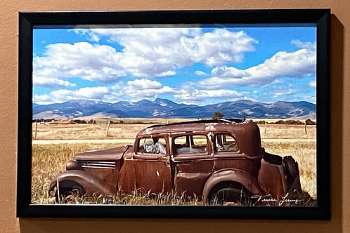 Harrison Automobile-11x17 Framed Poster Print