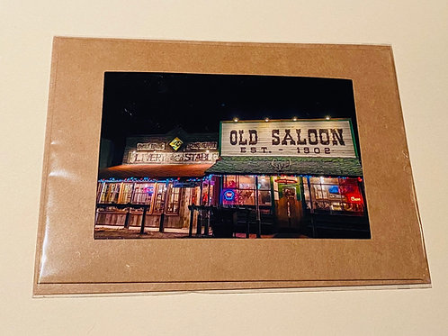 Historic Montana Bar Old Saloon