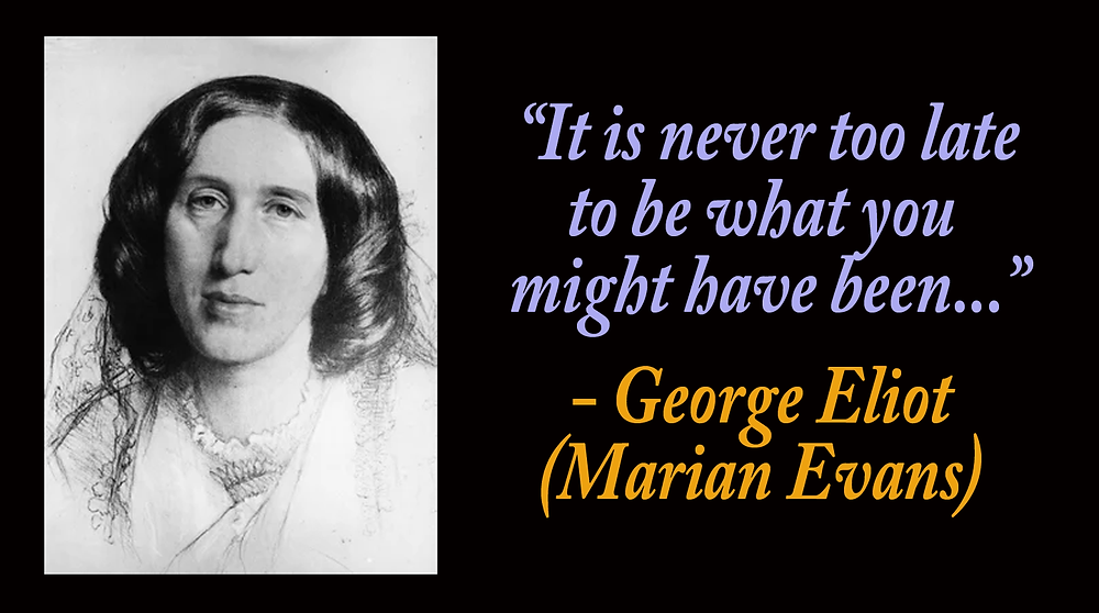 George Eliot quotes and philosophical contribution to the Great Work