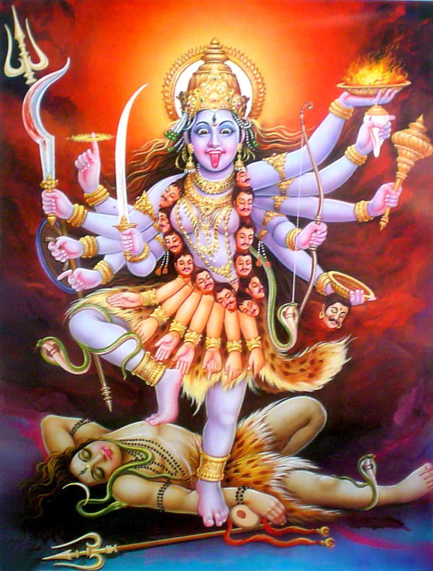Hindu Goddess Kali Symbolism: Dance of the Great Work