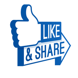 Sharing a Facebook post from your business page to a page you manage