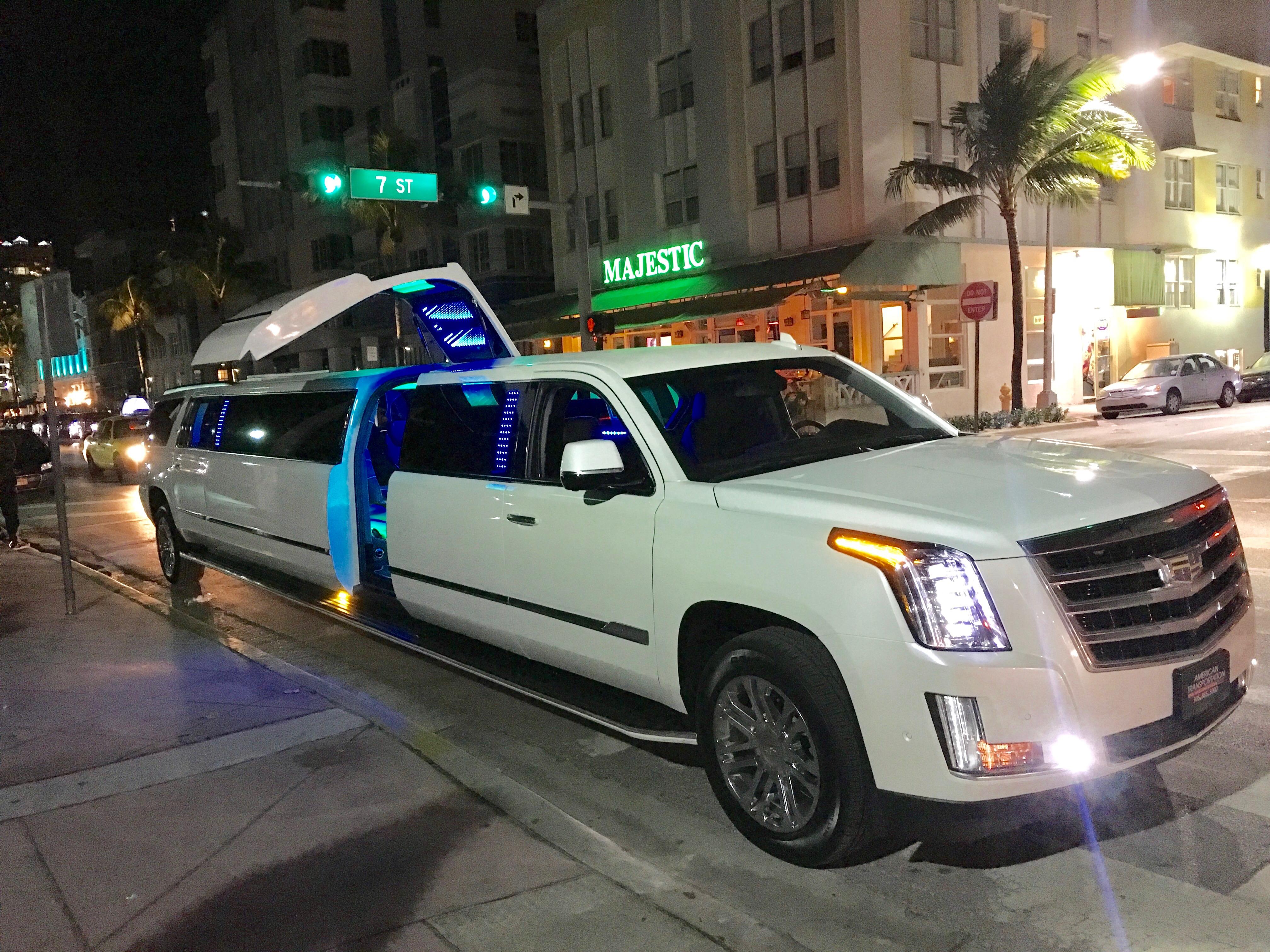Ultimate Escalade South Beach