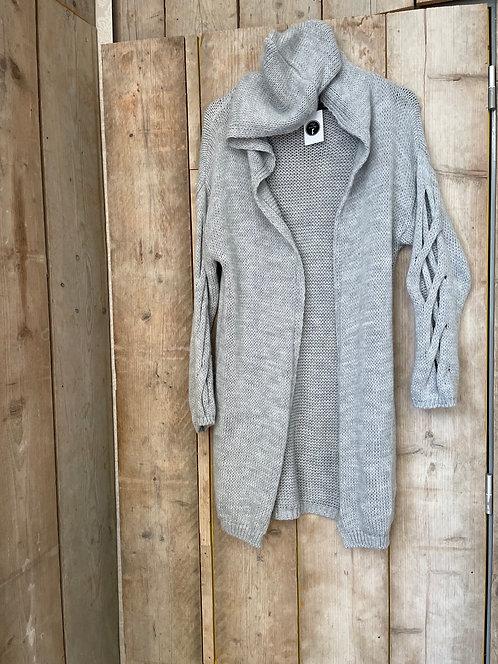 Half lang trui