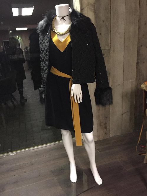 kleed zwart/goud, Jas