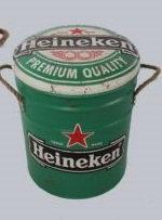 Med Heineken Stool /bin