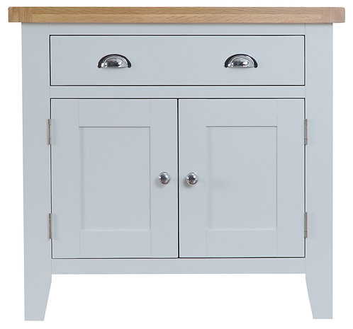 DORSET GREY PAINTED RANGE 2 DOOR 2 DRAWER SIDEBOARD