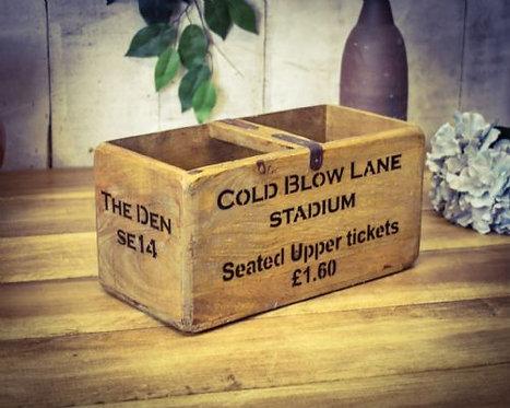 WOODEN BOX COLD BLOW LANE