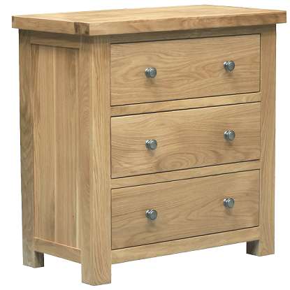 WINDSOR OAK RANGE 3 DRAWER WELLINGTON