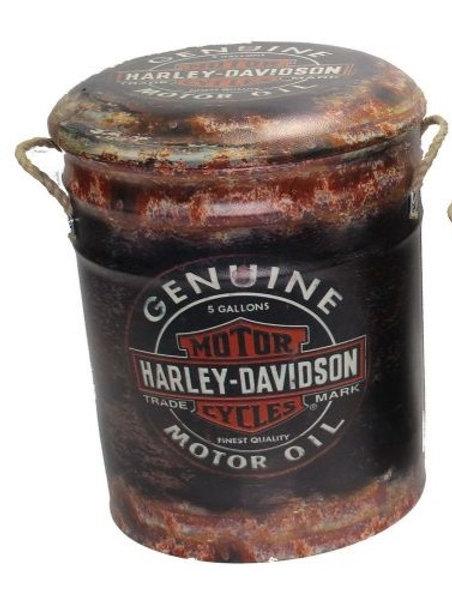 HARLEY DAVIDSON BIN /STOOL LARGE
