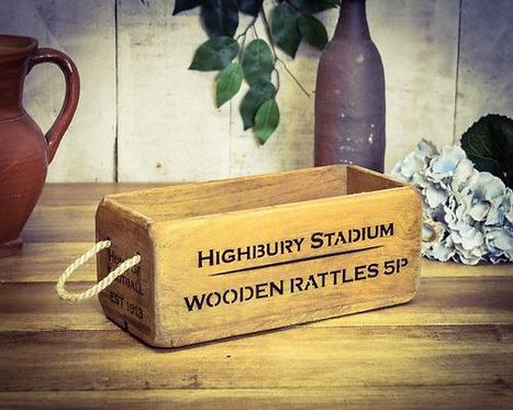 WOODEN BOX SMALL HIGHBURY