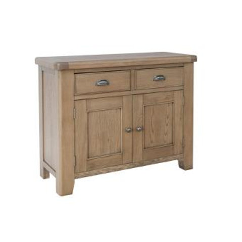 country oak 2 door 2 drawer sideboard