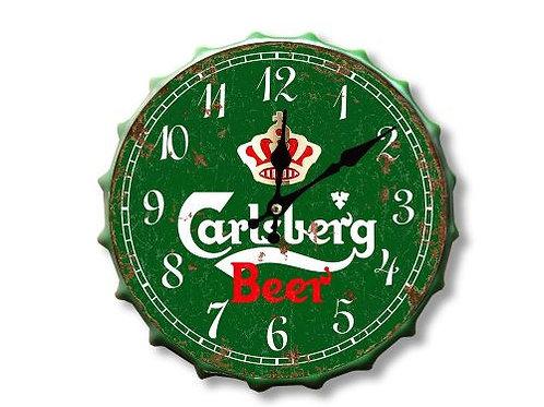 Carlsberg bottle top clock