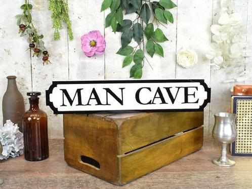 mini sign man cave
