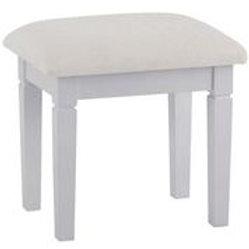 CAMDEN GREY DRESSING TABLE STOOL
