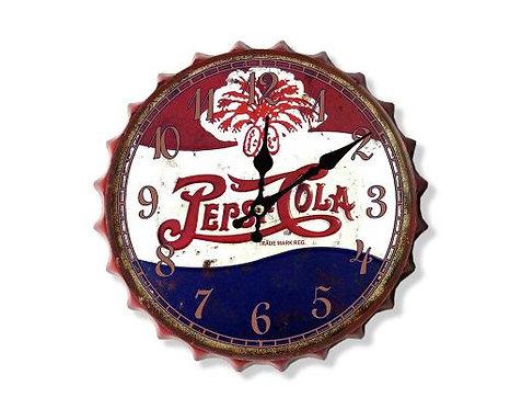 pepsi cola bottle top clock