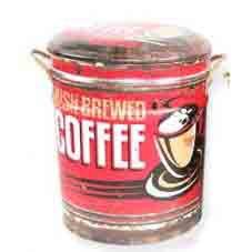 STOOL /BIN COFFEE LARGE