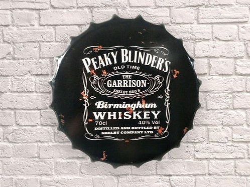 30cm peaky blinders bottle top