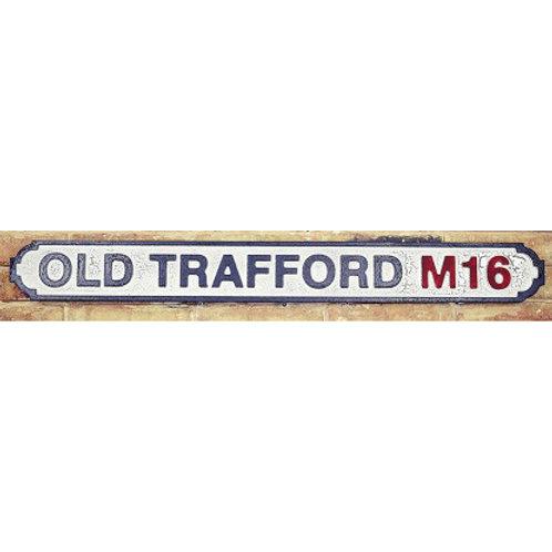VINTAGE SIGN OLD TRAFFORD M16