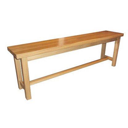 BROMLEY OAK BENCH 180CM