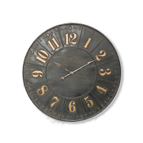large old style clock