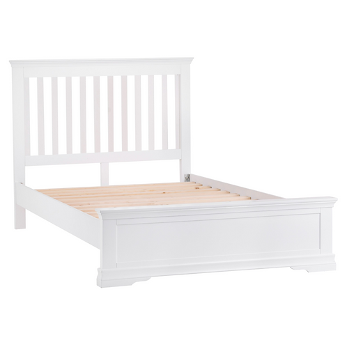 CAMDEN WHITE 5FT  BED FRAME