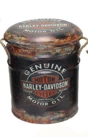 HARLEY DAVIDSON BIN/STOOL MED