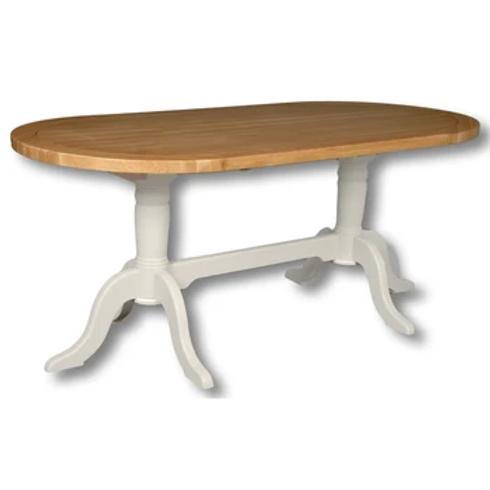 EPSOM DOUBLE PEDESTAL TABLE