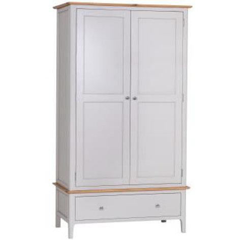 kensington grey wardrobe