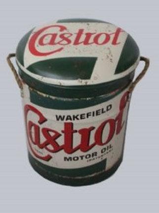 CASTROL STOOL/BIN SMALL