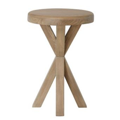 COUNTRY OAK SIDE TABLE