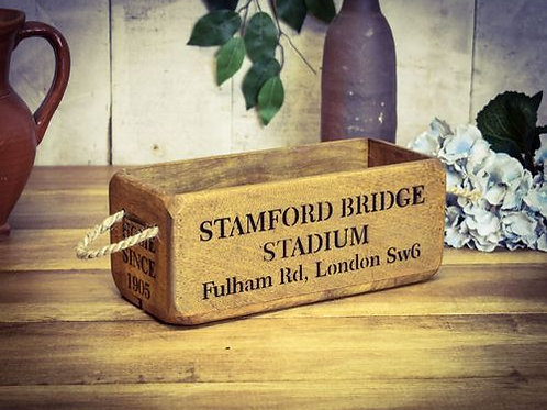 WOODEN BOX SMALL STAMFORD BRIDGE