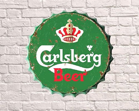carlsberg beer small bottle top