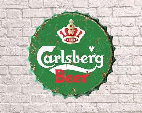 large carlsberg bottle top