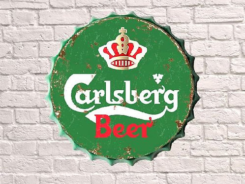 40cm  carlsberg bottle top