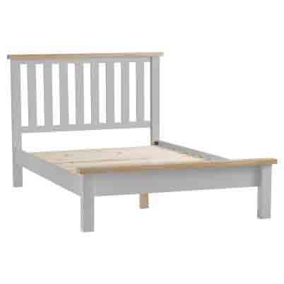 DORSET GREY  COLLECTION 4.6FT BED FRAME