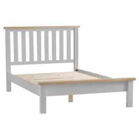 DORSET GREY  COLLECTION 4.6FT BED FRAME