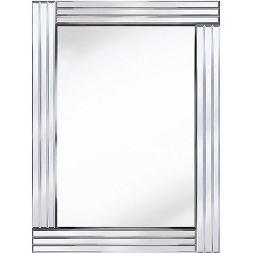 ALL GLASS THREE BAR MIRROR 60 X 80CM