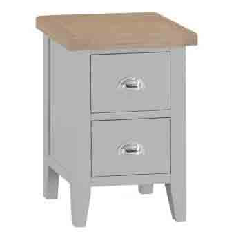 DORSET GREY COLLECTION SMALL BEDSIDE