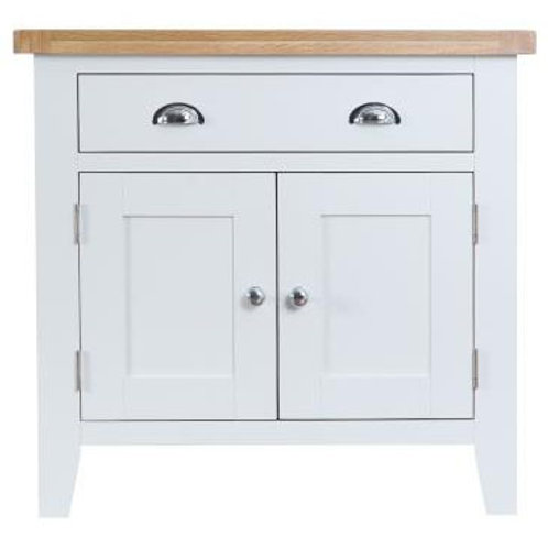 DORSET WHITE  PAINTED COLLECTION SMALL SIDEBOARD