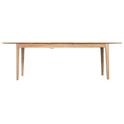New Bromley Oak Butterfly Exending Dining Table 2mt