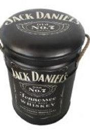 JACK DANIELS STOOL/BIN SMALL
