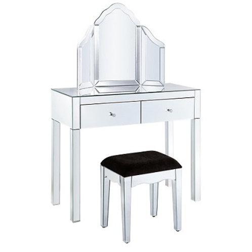 Venetian Glass Dressing Table Set