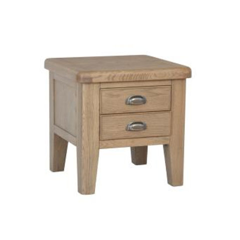 COUNTRY OAK LAMP TABLE