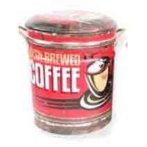 STOOL/BIN COFFEE MED