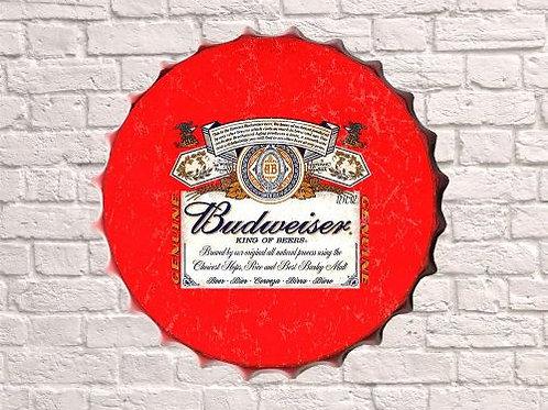 bud red bottle top 30cm