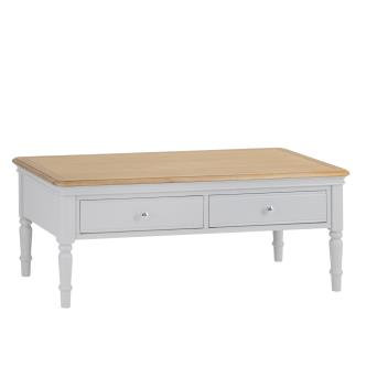 DEVON GREY PAINTED RANGE COFFEE TABLE