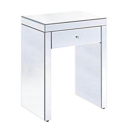 Venetian Glass Open Bedside Cabinet